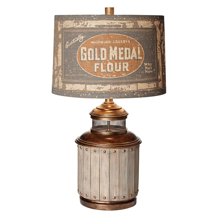 Pacific Coast Lighting Old Mill Table Lamp - 87-7003-9C