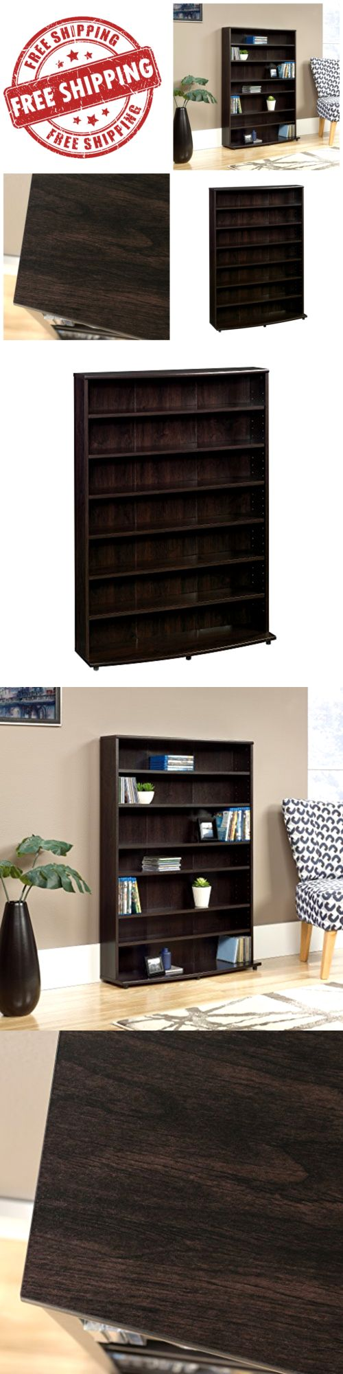 CD and Video Racks 22653: Multimedia Dvd Tower Cd Rack Cherry Shelf Storage Cabinet Stand Organizer Holder -> BUY IT NOW ONLY: $115.1 on eBay!