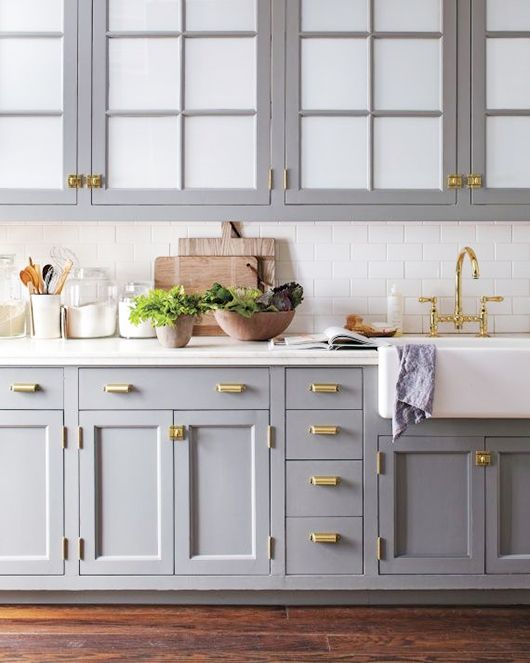 #Kitchen #Inspiration: #Brass Fixtures  http://www.sfgirlbybay.com/2015/03/12/dream-house-those-dreamy-brass-fixtures/