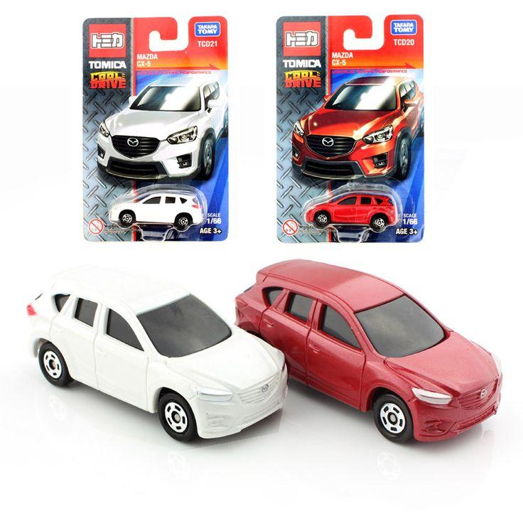 2016 Tomy tomica bambini Mazda cx-modelli modellini di automobili auto da corsa collectile allentato durevole giocattoli giochi economici ruote ragazzi regalo per bambini