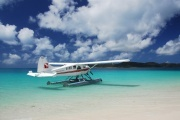Join Air Whitsunday on one of their scenic flights and discover pristine Whitehaven Beach. #ILoveTravel