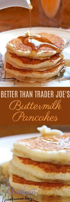 """Christina's """"Better than Trader Joe's"""" Buttermilk Pancakes"""