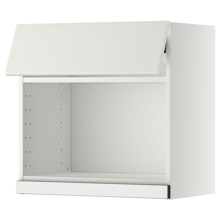 metod wandschrank f r mikrowellenherd wei veddinge wei k che pinterest wandschrank. Black Bedroom Furniture Sets. Home Design Ideas