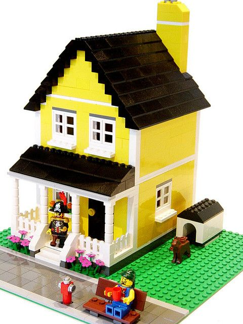 how to make a lego apartment