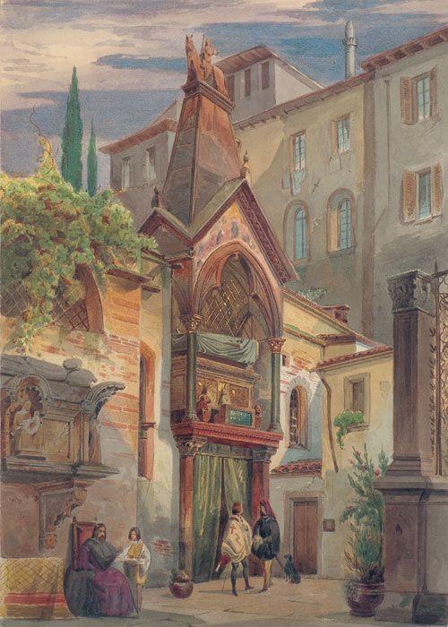 Eduard Gerhardt Scaliger-Gräber in Verona - Cangrande I della Scala - Wikipedia