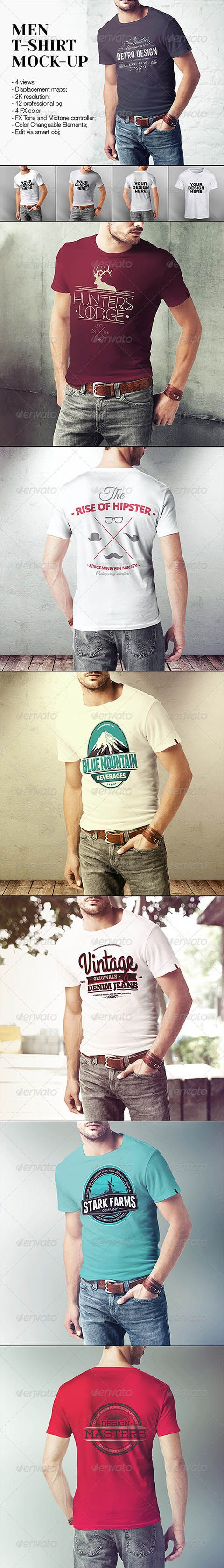 Men T-Shirt Mock-Up 7876525 » Free Special GFX Posts Vectors AEP Projects PSD Web Templates