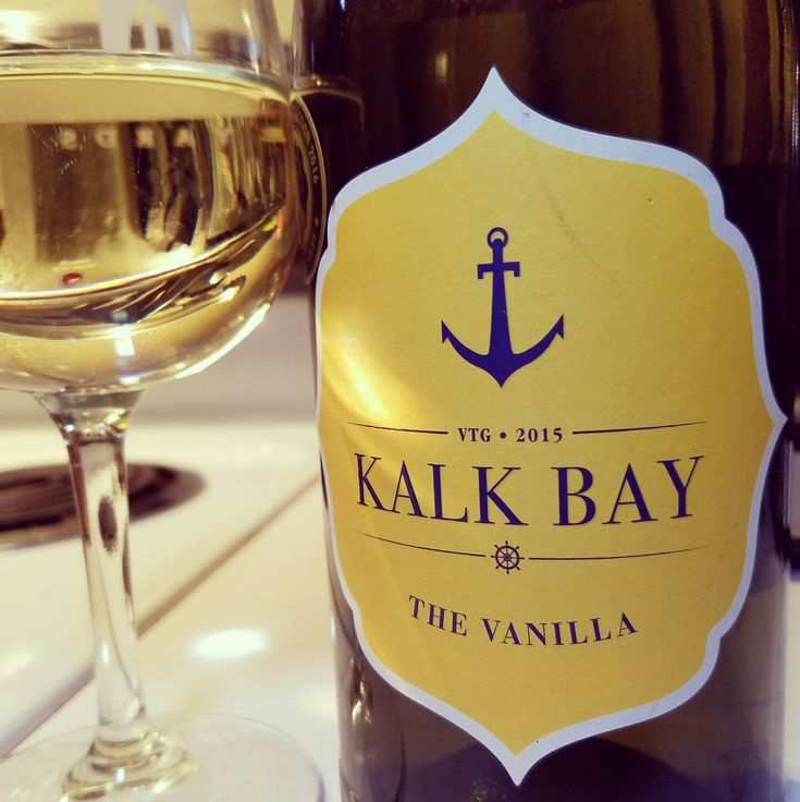 """2015 Kalk Bay """"The Vanilla"""" Chenin Blanc (South Africa). A nicely balanced wine---nice oak. Almost reminds me of an oaked Chardonnay.  Citrus makes way to honey and vanilla.  Enjoyable! Purchased for $11.99. #whitewine #wine #cheninblanc #southafricanwine #southafrica #winesofsouthafrica #kalkbay #winesunder15"""