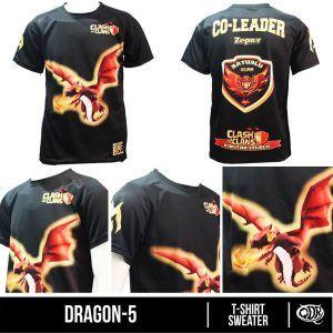 Dragon 05 Clash of Clans | Kaos dan Jersey Distro Bandung