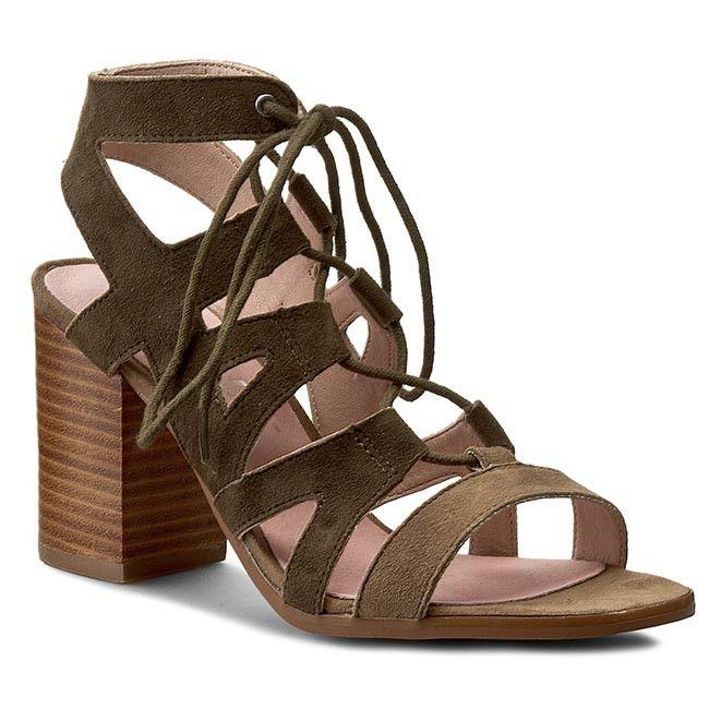 Sandały BRONX - 84435-K BX 960 Taupe/Olive 1653