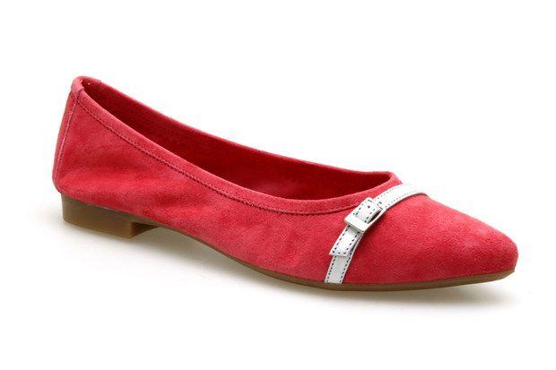 Ballerines REQINS GRETA Corail - Chaussures femme