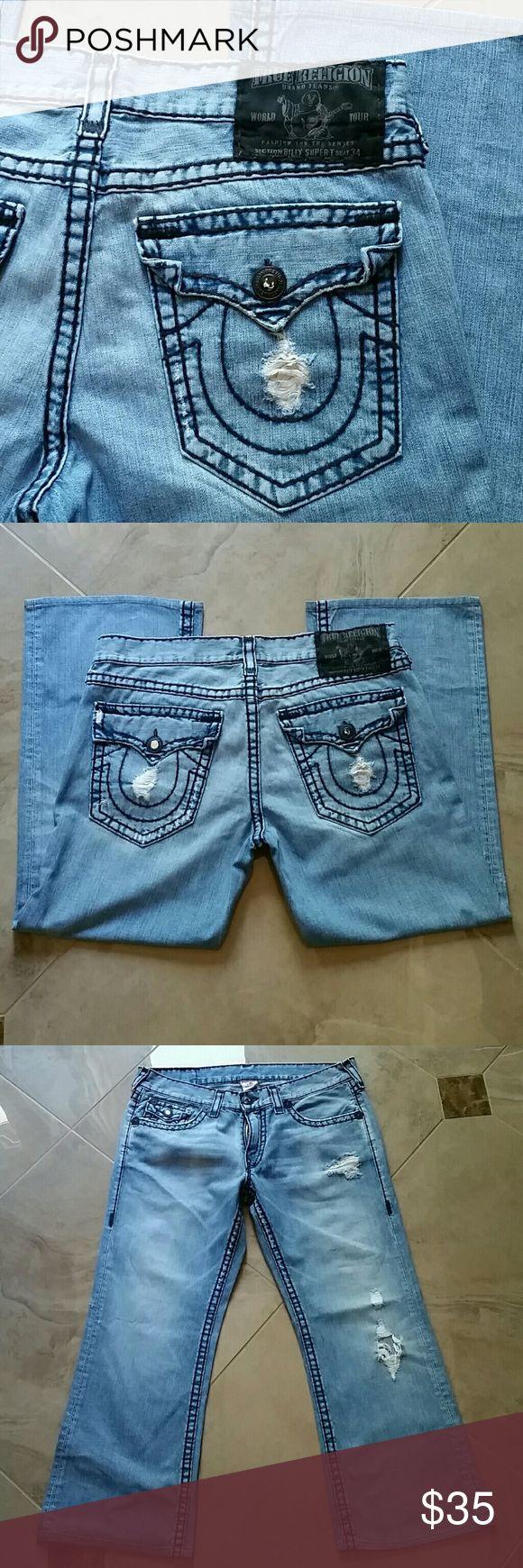 True Religion men jeans not for sale True Religion men  jeans ,inseam  29 True Religion Jeans