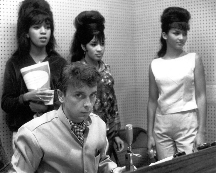 the ronettes with phil spector