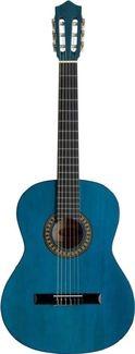 Stagg C 542 BL Konzertgitarre, 4 4 Größe, Classicguitar blau hochglanz - Diese Konzertgitarre eignet sich hervorragend für den Einsteigerbereich. #Gitarre #Konzertgitarre