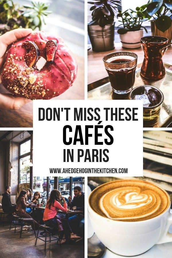 Don't miss these cafes in paris