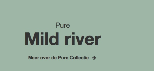 Wall colour, 'Mild river', Pure collection by Flexa