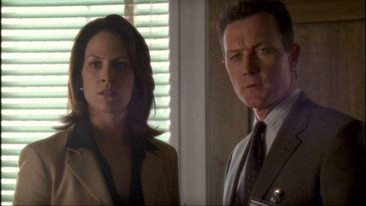 Monica Reyes and John Doggett