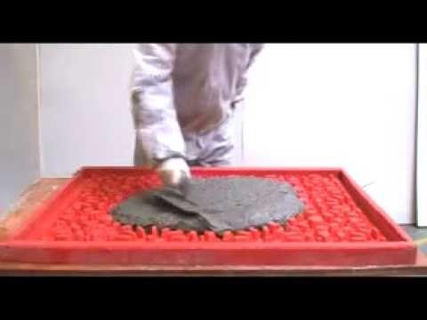 Placas decorativas de concreto decora o com placas de - Placas decorativas para pared interior ...