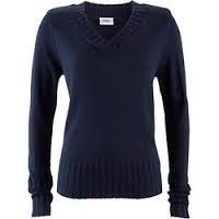 Znalezione obrazy dla zapytania sweter damski w serek