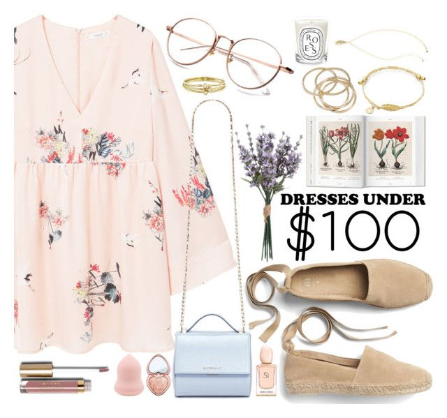 """""""Easy like a Sunday Morning"""" by carolsposito ❤ liked on Polyvore featuring MANGO, Gap, Givenchy, ABS by Allen Schwartz, Jennifer Meyer Jewelry, Lilly Pulitzer, Diptyque, Too Faced Cosmetics and Stila"""