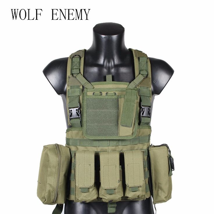 RRV Tactical Vest, Molle Vest, 600D Nylon, Airsoft Tactial Gear Colete Tatico, Black, Tan, OD Green, Woodland, CP, ACU Click visit to check price #sportwear