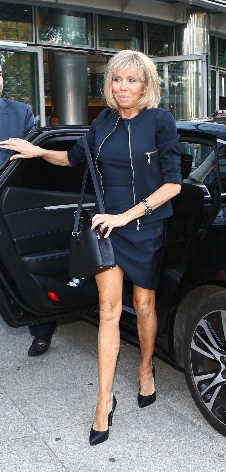 Brigitte Macron Trogneux Classy Première Dame de la France