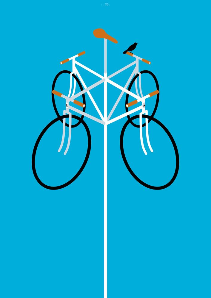 Some cool cycling-themed posters. (cc: @Brian McKay): 100Copies Bicycleart, Bikeart Fixie, Bicycle Art, Bike Art, 100Copies Design