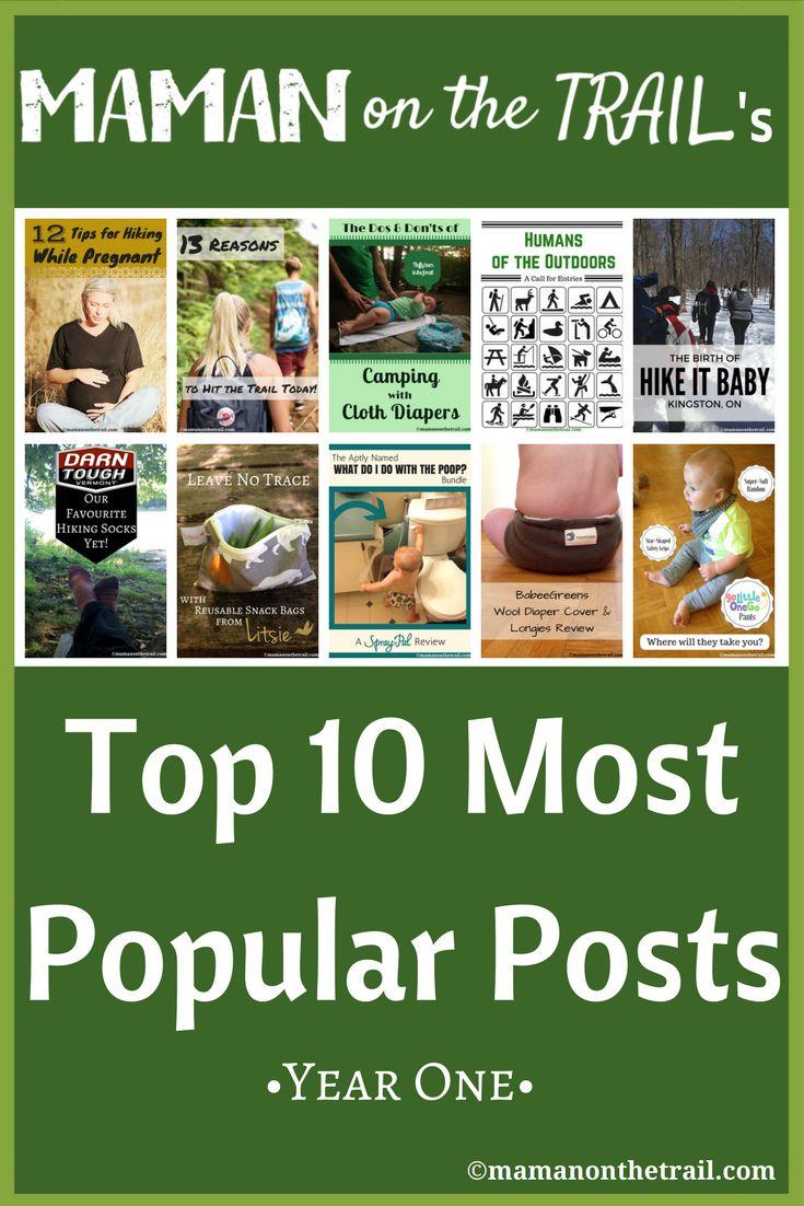 Top 10 Posts 2016 - mamanonthetrail.com