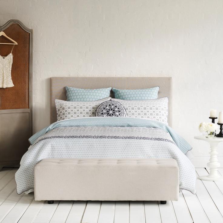 Mercer + Reid Quilt Cover Sets and Linen - Azure, online at Adairs ... : quilt cover sales - Adamdwight.com