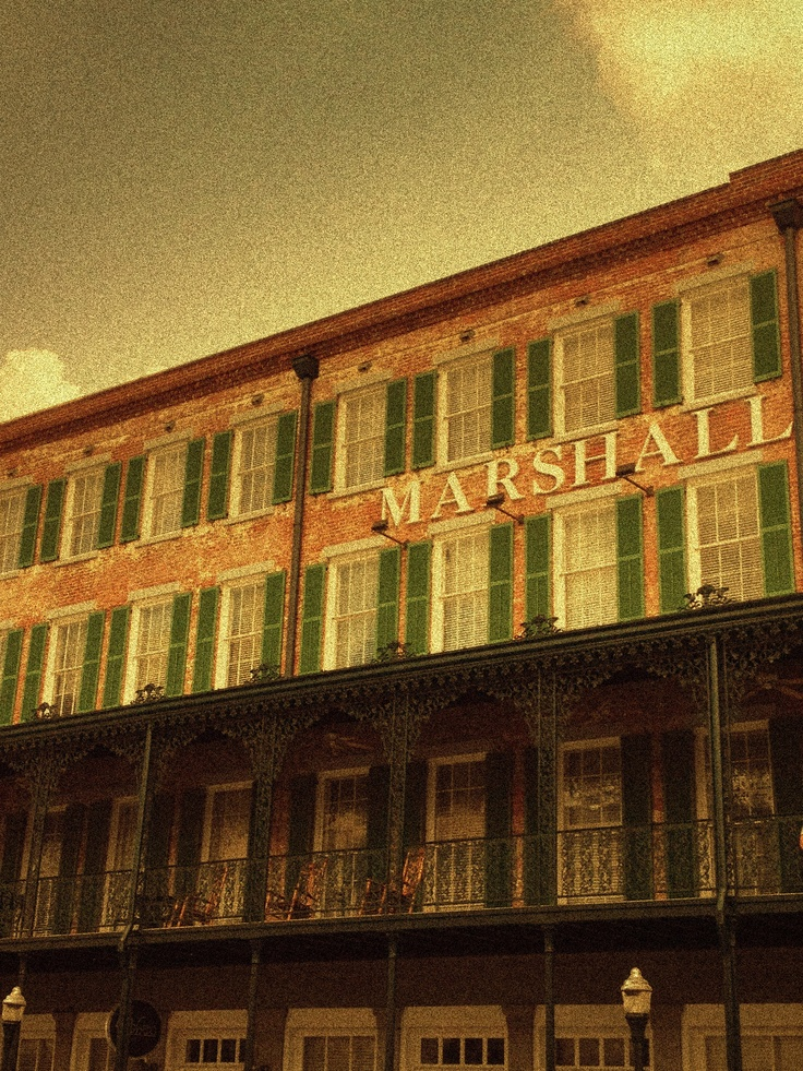 Most haunted hotel in Savannah, Marshall House