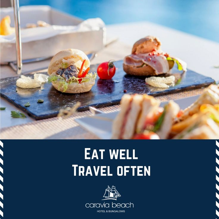 """Eat well, travel often"" #quote_of_the_day #taverna #takemethere #kos #greece #caraviabeach"