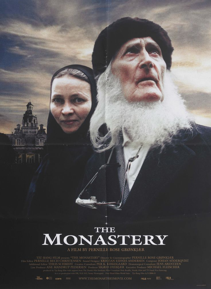 The monastery (Pernille Rose Grønkjær, DK, 2006) his is the story about Mr. Vig, a well educated 86 year old bachelor, and Sister Amvrosija, a Russian nun, who by chance, or destiny, becomes part of his life. http://www.dfi.dk/faktaomfilm/film/da/49399.aspx?id=49399