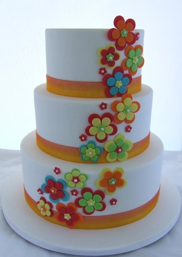 1000 Images About Flower Cakes On Pinterest 50th