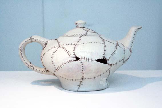 ceramic and fabric
