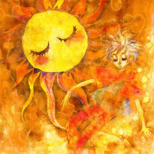 «Ήλιε μου, φίλε μου» ΧΑΡΑΥΓΗ Ηλιαχτίδα 1: Καλημέρα! Καλημέρα! Ξύπνησε καινούρια μέρα! Ο ήλιος βγήκε, σηκωθείτε άλλο πια μην κοιμηθείτε. Ηλιαχτίδα 2: Ανοίξτε τα παράθυρά σας φως να τρυπώσει στα όνει…
