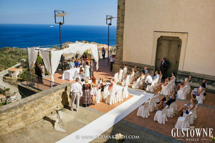 Ceremonia ślubna na Sycylii / Wedding ceremony in Sicily