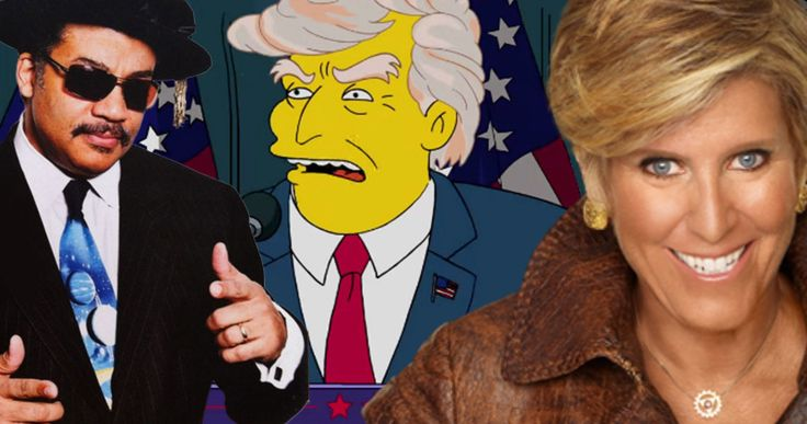 The Simpsons Plan Trump Spoof with Neil DeGrasse Tyson & Suze Orman -- Neil DeGrasse Tyson joins Suze Orman and screenwriting guru Robert McKee as a team of educators in The Simpsons Donald Trump parody episode. -- http://tvweb.com/simpsons-season-28-trump-parody-tyson-orman-mckee/