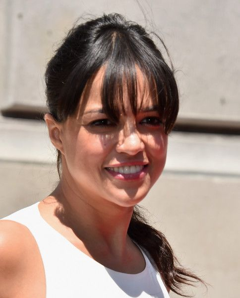 Michelle Rodriguez Photos - Celebs Attend the Premiere Press Event for the New Universal Studios Hollywood Ride 'Fast & Furious-Supercharged' - Zimbio