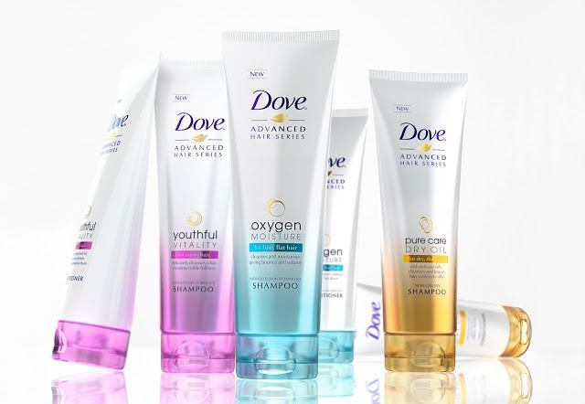 New Dove Advanced Hair Series on Packaging of the World - Creative Package Design Gallery