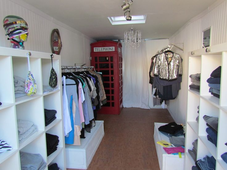 Retail setup mobile retail showrooms stepvan enclosed for Retail store setup ideas