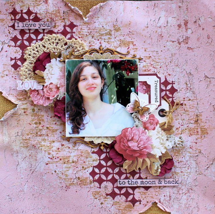 Kaisercraft Ma Cherie - Cathy Cafun