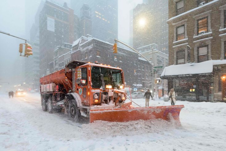 East coast winter storm - in pictures