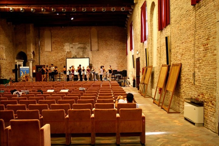 auditorium St.Nicolò, main stage for events