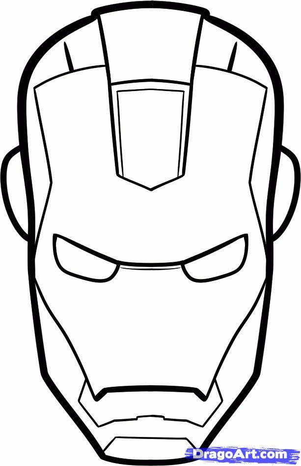 Iron man template                                                                                                                                                     Más
