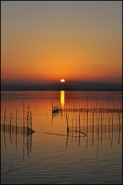 Atardecer Albufera- by rbf0069, via Flickr