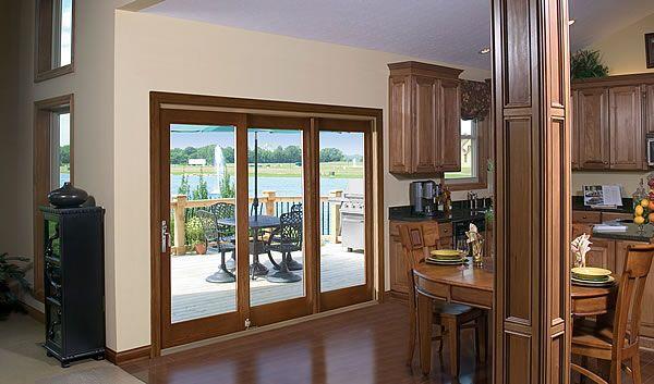 8 best triple patio doors images on pinterest patio for Three pane sliding glass door
