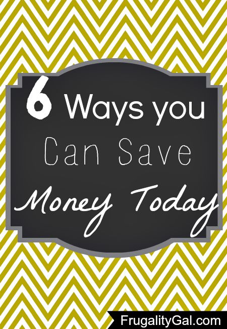 Frugality Gal was featured by  DIY Home World. Please take the time to check out the post!  6 Ways You Save Money Today