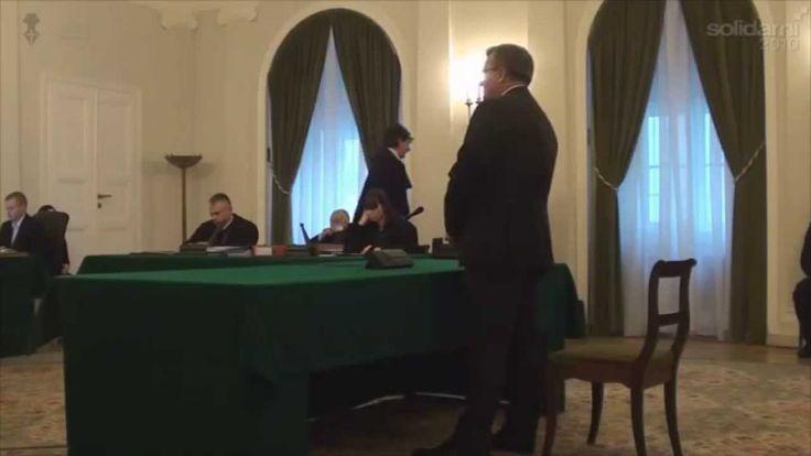 Zeznania Bronisława Komorowskiego w procesie Wojciecha Sumlińskiego 18 1...