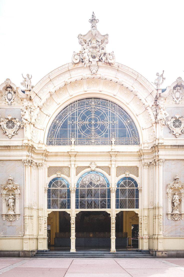 main colonnade, marianske lazne, czech republic