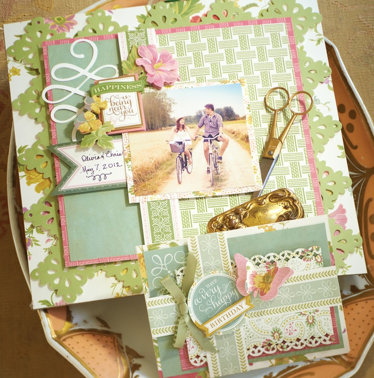 Olivia Papercrafts    © Anna Griffin, Inc. #annagriffingiveaway @Anna Totten Griffin, Inc.