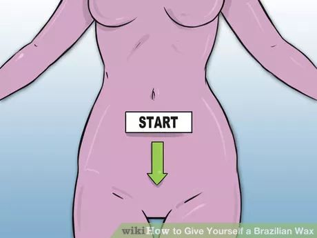 Image titled Give Yourself a Brazilian Wax Step 14